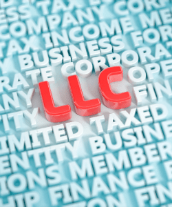 Picture of letters LLC