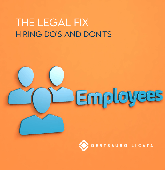 Hiring and Discrimination: Do's and Don'ts for Your Ohio Business (Part 1)