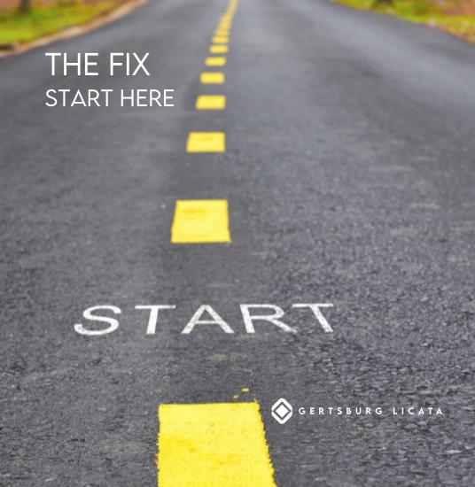 THE FIX – Start Here