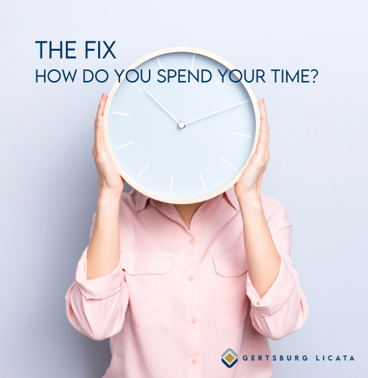 THE FIX – How Do You Spend Your Time?