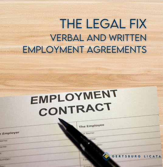 What Ohio Business Owners Need to Know About Verbal and Written Employment Agreements